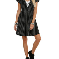 The Nightmare Before Christmas Jack Skellington Pinstripe Dress