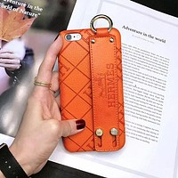 Perfect Hermes Fashion iPhone Phone Cover Case For iphone 6 6s 6plus 6s-plus 7 7plus 8 8plus X