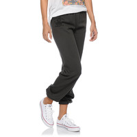 Obey Girls To Hell And Back Grey Sweatpants at Zumiez : PDP