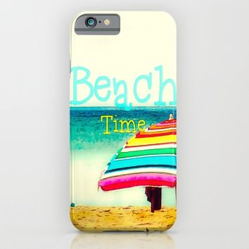 Beach time #3 iPhone & iPod Case by Armine Nersisian