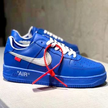 Nike Air Force 1 x OFF-WHITE Joint Low Boots