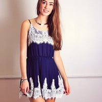 Navy Lovers Dress