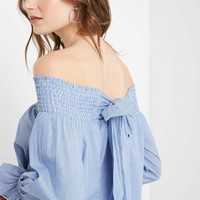 Halston Off the Shoulder Top