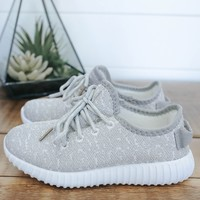 Girls Featherweight Sneakers - Grey