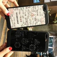 Fashion science mobile phone case for iPhone X 7 7plus 8 8plus iPhone6 6s plus -171207