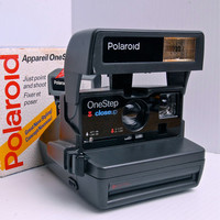 Polaroid One Step  600 film Camera Fully Tested.