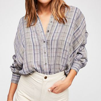 Wesley Plaid Buttondown