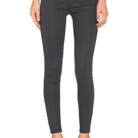 Cheap Monday High Spray Jean in Waxed Charcoal