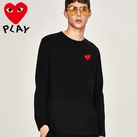 New COMME des GARCONS Mens Long Sleeve Hoodie 100% COTTON TOP