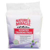NATURE'S MIRACLE™ Tropical Bloom Scented Dog Training Pads   Potty Training   PetSmart