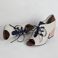 Heather Lace-Up Heels