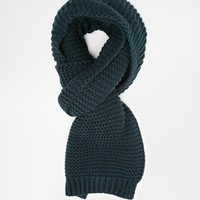 New Look Chunky Textured Scarf
