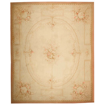 Antique Aubusson French Rugs