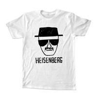 Breaking Bad heisenberg For T-shirt Unisex Adults size S-2XL Black and White