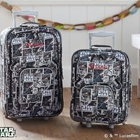 Star Wars™ Darth Vader™ Rolling Luggage | Pottery Barn Kids