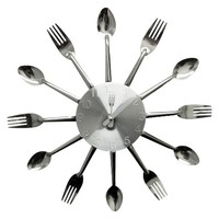 Creative Motions Fork and Spoon Clock
