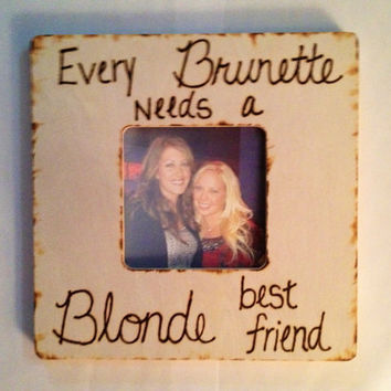 Best Friends Picture Frame... Follow me for more:)