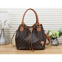 Louis vuitton hot selling lady's print shopping bag fashion shoulder bag LV print