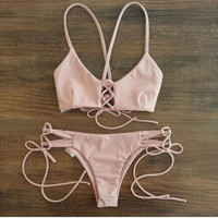 [SUMMER CLEARANCE]  women bikini sexy Beach Swimwear women swimwear maillot de bain bikinis push up for women = 1946118404