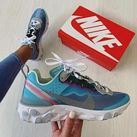 """Nike React Element 87 """"Royal Tint"""" Sneakers Sport Shoes"""