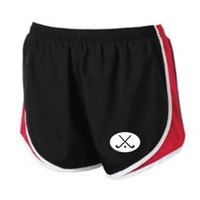 Field Hockey - Red and Black Shorts