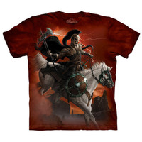 DARK RIDER The Mountain Skeleton Death Knight Horse Skull T-Shirt S-3XL NEW
