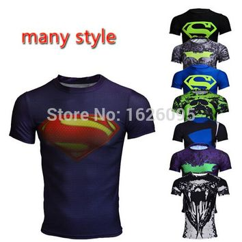 Men's Compression superhero quick dry shirt