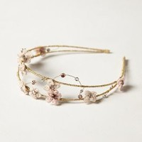 Chryseis Headband by Anthropologie Cream One Size Hair