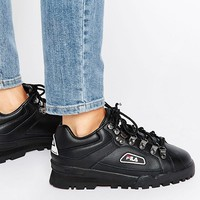 Fila Trailblazer Boots In Black at asos.com