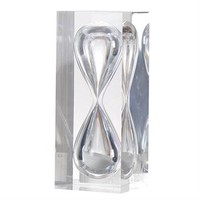 Onley Polyresin and Glass Hourglass