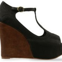 Jeffrey Campbell Oh Yes in Black Leather