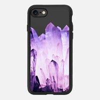 PURE CRYSTAL PURPLE by Monika Strigel iPhone 7 Hülle by Monika Strigel | Casetify