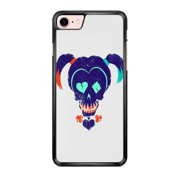 Harley Quinn Suicide Squad On White iPhone 7 Case