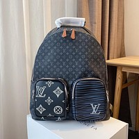 Louis Vuitton LV large-capacity casual trendy backpack bag
