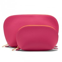 Travel Case Set - Fuchsia | Cuyana Shop