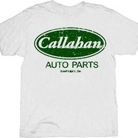 Tommy Boy Callahan Auto Parts White T-shirt  - Tommy Boy - | TV Store Online