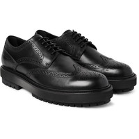 Tod's - Leather Wingtip Derby Shoes