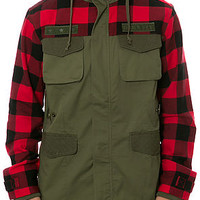 The Des Moines Jacket in Terrain Green