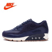 Original New Arrival Authentic NIKE AIR MAX 90 PREMIUM Men's Breathable Running Shoes Sport Outdoor Sneakers 700155-401