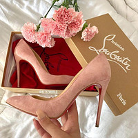 ( S C ) Christian Louboutin 2021 New PINK pointed high heels