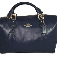 Coach Colette Leather Satchel Shoulder Bag F33806