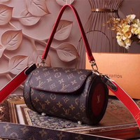 Lv Louis Vuitton Monogram Leather Inclined Shoulder Bag
