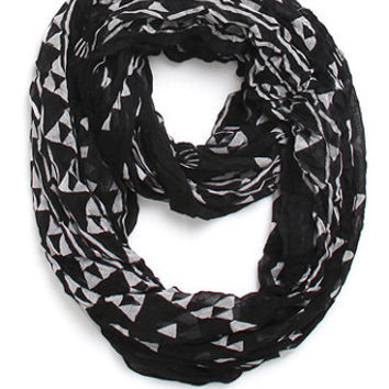 With Love From CA Small Geo Print Infinity Scarf at PacSun.com