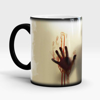 Walking Dead Color Changing coffee mug, Walking Dead Magic Mug, Gift for the Walking Dead lovers