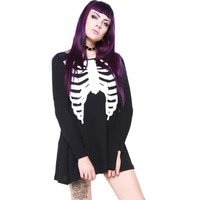 Wishbone [Black] | TRAPEZE DRESS