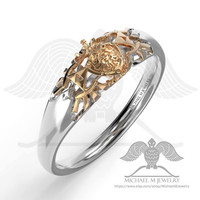 Wedding band SHIELD Legend of Zelda Hyrule Crest unisex custommade, handmade ***Made to Order