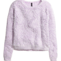 Chenille Sweater - from H&M