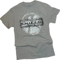 Agents of S.H.I.E.L.D. - Grunged Stamp T-Shirt Size XL