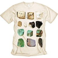 Mineral Specimens T Shirt Semi Precious Geology by nonfictiontees