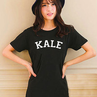 Cute KALE Design Style White and Black Reaclothstore